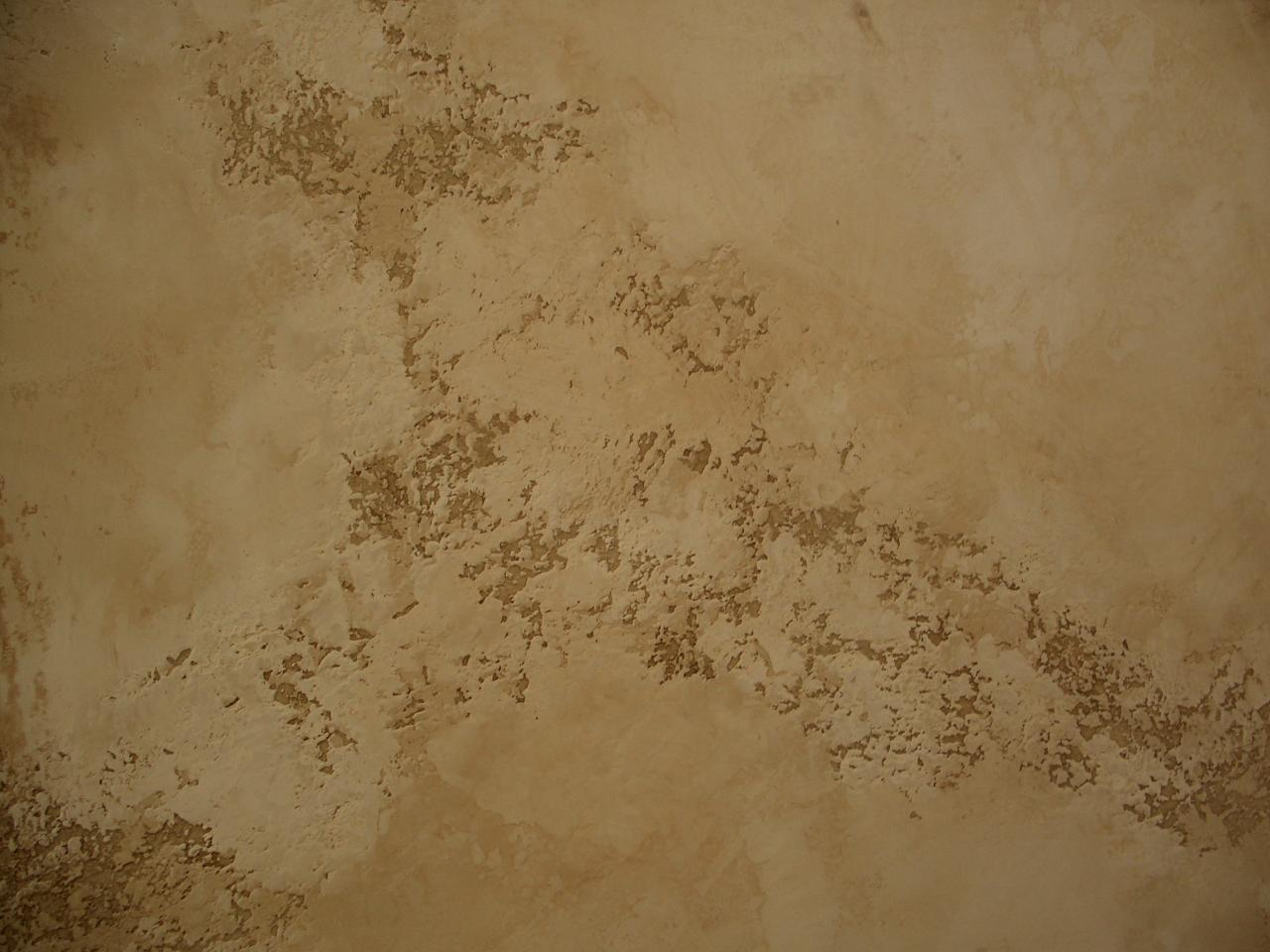 Venetian Plaster Over Textured Walls images